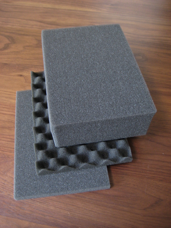 Foam padding for Pelican cases.